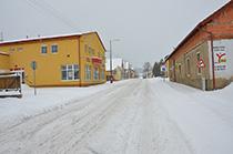 Zasněžená obec