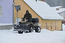 Fotogalerie - Zimní údržba obce