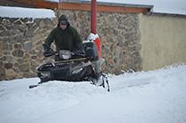Zimní údržba obce