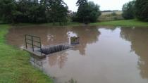 Povodně po přívalovém déšti 07/2014, foto: VCH
