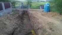 Fotogalerie - Výstavba kanalizace, vodovodu a plynovodu v točně