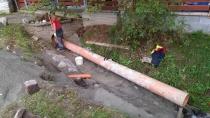 Fotogalerie - Oprava hráze po povodních