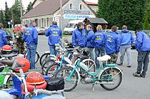 Fotogalerie - Závod mopedů v Dubně - Týmy a stroje