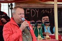 Závod mopedů v Dubně - Vyhlášení