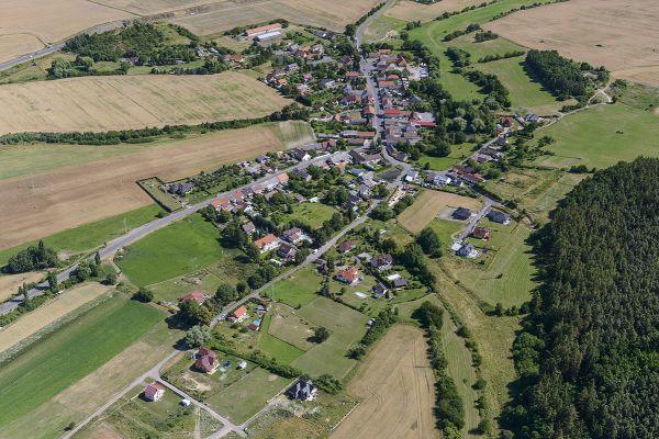Dubno - Letecký snímek č.2752