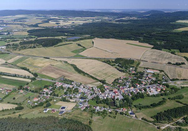Dubno - Letecký snímek č.2759