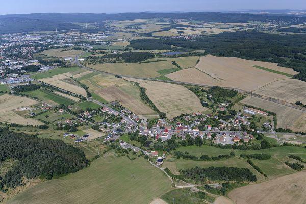 Dubno - Letecký snímek č.2765
